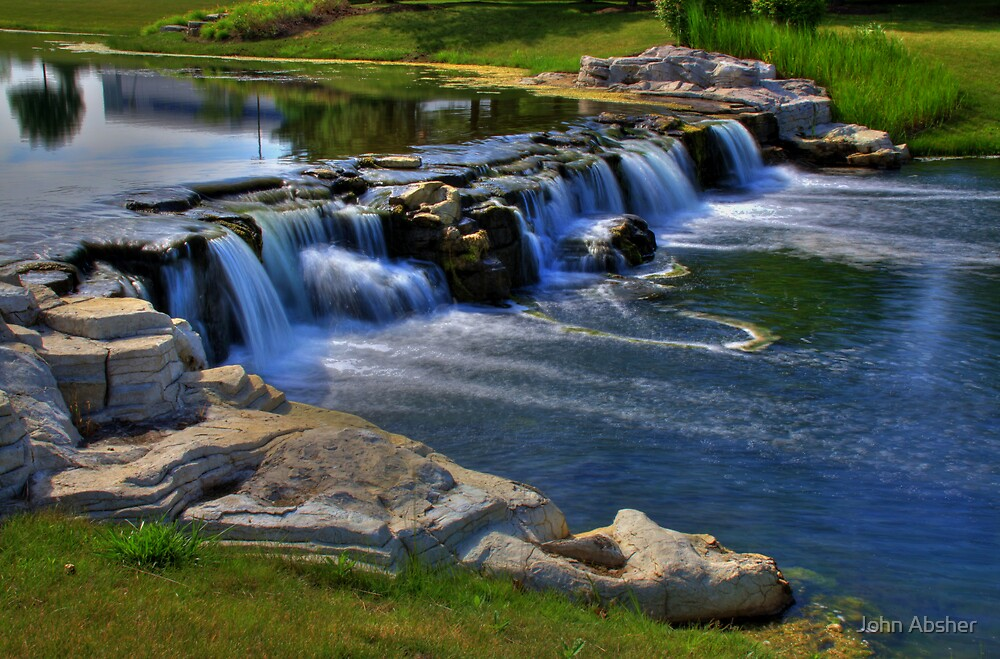 Waterfall 11 by John Absher