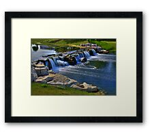 Waterfall 11 Framed Print