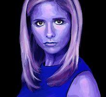 Portrait - Sarah Michelle Gellar by SammyRogers