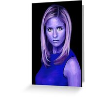 Portrait - Sarah Michelle Gellar Greeting Card