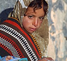 Omani Girl by Julie Waller
