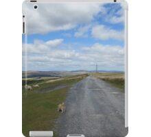 Welsh mountainside iPad Case/Skin