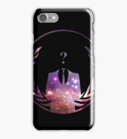Cosmic Anonymous iPhone Case/Skin