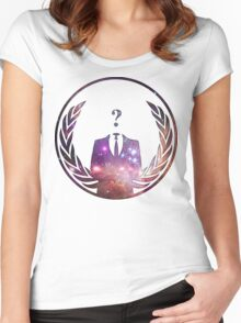 Cosmic Anonymous Women's Fitted Scoop T-Shirt