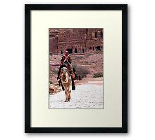 Petra, Jordan Framed Print