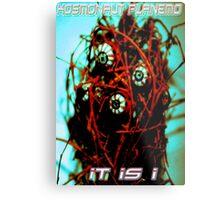 Videogame Monster Metal Print
