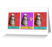 Affectionate Dalek Greeting Card