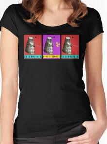Affectionate Dalek Women's Fitted Scoop T-Shirt