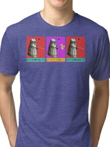 Affectionate Dalek Tri-blend T-Shirt