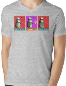 Affectionate Dalek Mens V-Neck T-Shirt