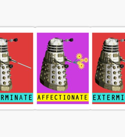 Affectionate Dalek Sticker