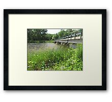 Meyersburgh Bridge Framed Print