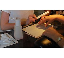 Manicure Photographic Print