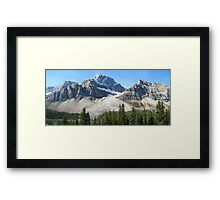Icefields Parkway - Canada: September 2008 Framed Print