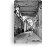 Alleyway, Liverpool Canvas Print