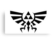 Hyrule Crest Triforce Canvas Print
