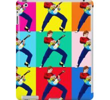 PAUL WELLER THE JAM WITH WHAM GUITAR iPad Case/Skin