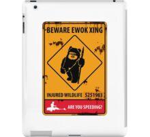 BEWARE EWOK XING iPad Case/Skin