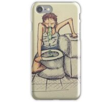 Mother vomiting iPhone Case/Skin