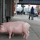 Fake Plastic Pig by maxwell78