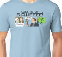 Agents of SQUEEEE!!!!!! Unisex T-Shirt