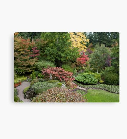 Butchart Sunken Gardens Canvas Print