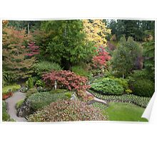 Butchart Sunken Gardens Poster