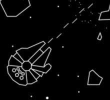 Star Wars Asteroids Sticker