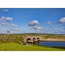 bridge over lahinch , golf course, county clare, ireland. famous irish tourist holiday attraction Photographic Print