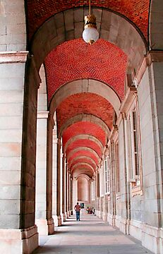 Archways in Madrid by Elana Bailey