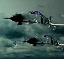 Night Phantoms by Steven  Agius