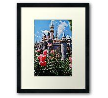 Castle Roses Framed Print