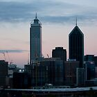 Perth City at Dusk From Kings Park by KBloodGallery