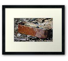 rusty sardines Framed Print