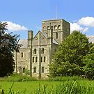 St Cross Church, Winchester, southern England, seen from the North-East by Philip Mitchell