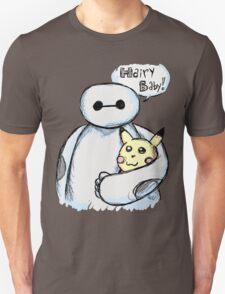 baymax and hairy baby pikachu plush T-Shirt