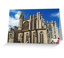 St. Nazarius, Carcassonne 2 Greeting Card