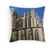 St. Nazarius, Carcassonne 2 Throw Pillow