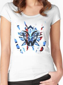 Masked dream (exclusive) PeewieDesigns Women's Fitted Scoop T-Shirt