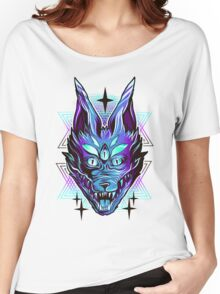 Mystic Wolf  Women's Relaxed Fit T-Shirt