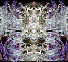 dragonfly fractal fantasy by webgrrl