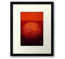 Martian Sunrise!!! Framed Print