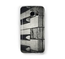 These Worn Tunes in Black and White Samsung Galaxy Case/Skin
