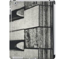 These Worn Tunes in Black and White iPad Case/Skin