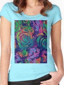 Cira Flora Bali Women's Fitted Scoop T-Shirt