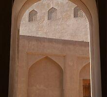 Window in Oman by Julie Waller