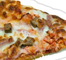 Meat Feast Pizza Slice Sticker
