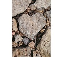 Puzzle Heart Photographic Print