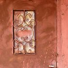 Door in Petra, Jordan by Julie Waller