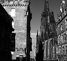 Royal Mile Evening by Martina Fagan